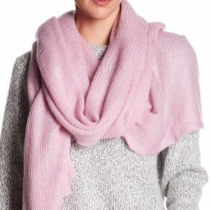 NWOT Free People Kennedy Blanket Scarf Pink